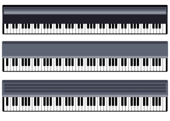 keys of piano
