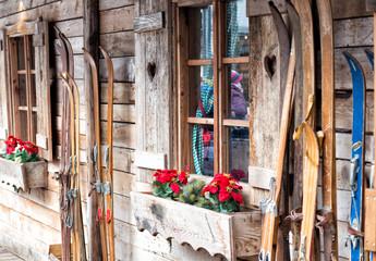 Ski Hütte