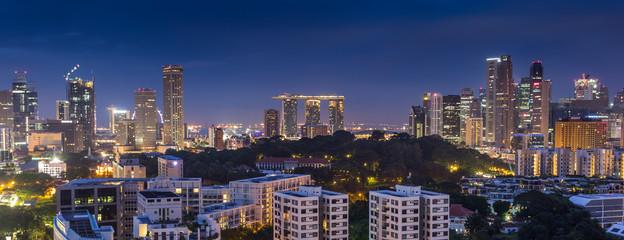 Keuken foto achterwand Sydney CITY SCAPE IN SINGAPORE