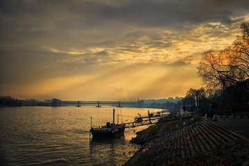 Riverside Rhine Mainz