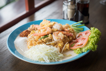 Thai food : Pad Thai noodles