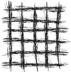 abstract vintage grunge black grid background,  design element