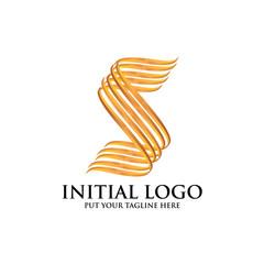 Initial S Classic Logo icon