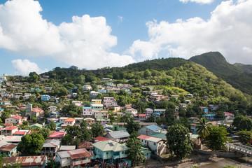 Panorama sur Canaries, Sainte-Lucie