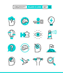 Creativity, imagination, problem solving, mind power and more.