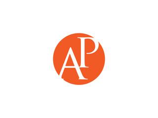 Double AP letter logo