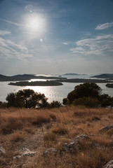 Sunset over Kornati Islands