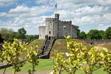 Cardiff Castle in Wales