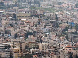 Nazareth cityscape