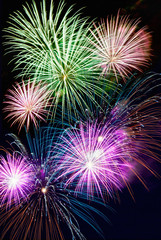 Exploding Firework Display