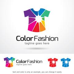 Color Fashion Logo Template Design Vector
