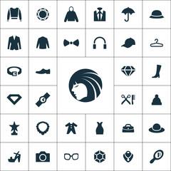 fashion icons universal set