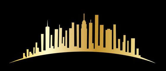 New York skyline header or banner