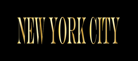 New York City header or banner