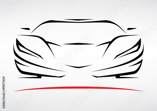 sports car outline vector www pixshark com images police car outline vector car engine outline vector