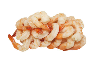 Freshly cooked Shrimps