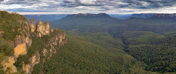 Garden Poster Australia Blue Mountains Panorama