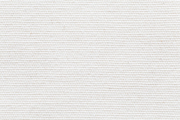Photo sur Toile Tissu Detail of White fabric texture and seamless background