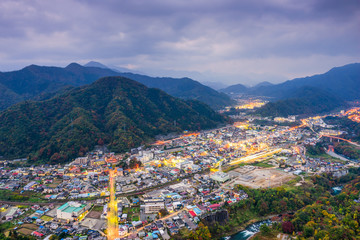 Otsuki, Japan Townscape