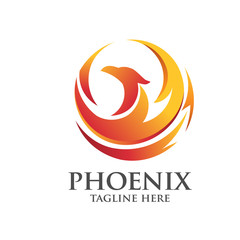 eagle and phoenix logo