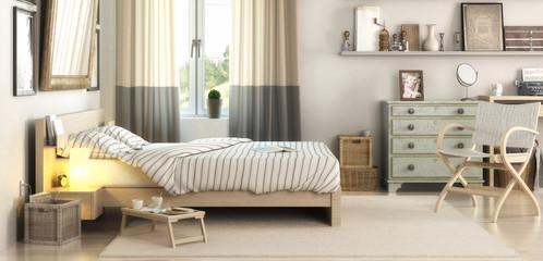 Schlafzimmereinrichtung (panoramisch)
