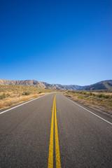 Portrait View of Highway Road