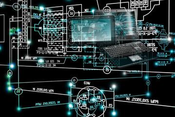 E-computer designing engineering technology