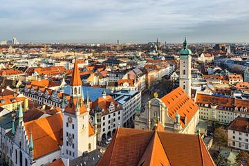 Altstadt von München, Deutschland
