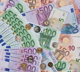 Money Geld  Euros