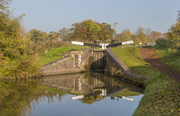 Consisting of 30 locks over a distance of 2.25 miles, Tardebigge Locks along the Worcester and Birmingham Canal in Worcestershire is the longest flight of locks in the UK.