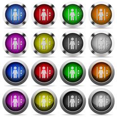 Elevator button set