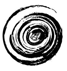 spiral shape cycle background,  illustration design element