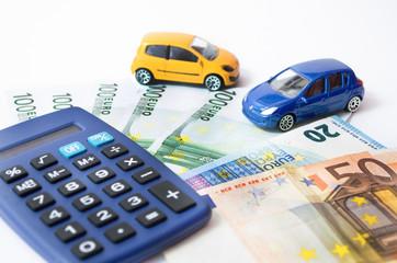 KfZ Kosten, Auto und Gldscheine