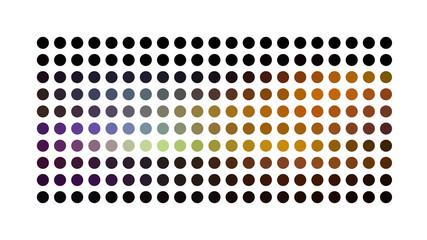 powerful abstract dot background pattern