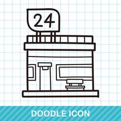 market store doodle