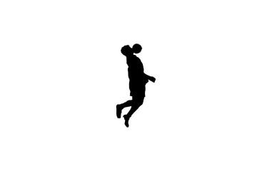 Soccer Player Silhouette header