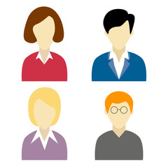 Collection of, social network characters