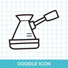 coffee machine color doodle