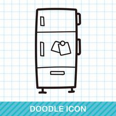 refrigerator color doodle