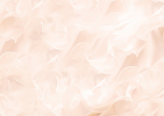 abstract background with soft gentle wavy rose petals pattern.