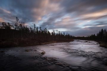Sunset North Finland