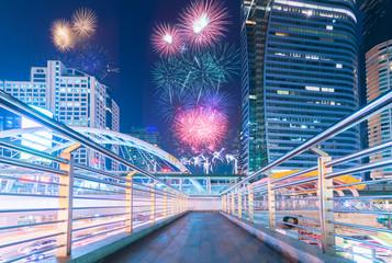 Bangkok New Year Firework