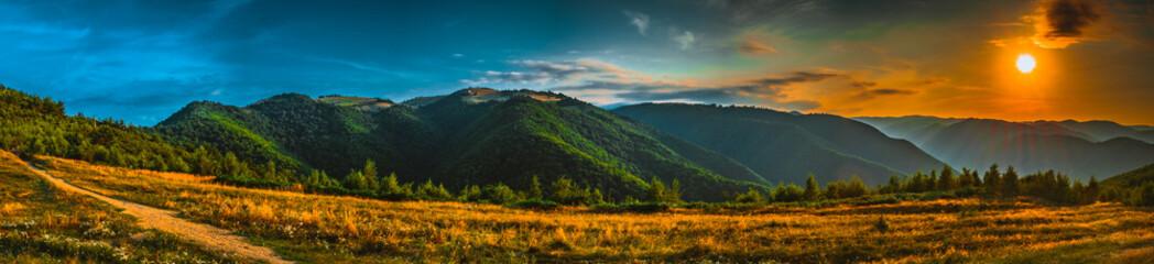 Sunset on top - A special sunset on top - Cindrel mountains, Blidarei peak area, Gura Raului village area, Sibiu county, Romania, 960m - 8 frame