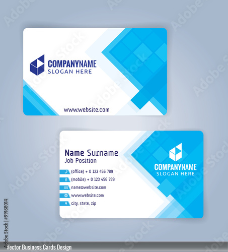 White and blue modern business card template illustration vector 10 white and blue modern business card template illustration vector 10 accmission Gallery