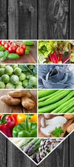 Gemüse - Collage
