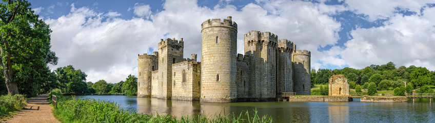 Bodiam Castle in England