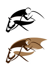 horseman emblem