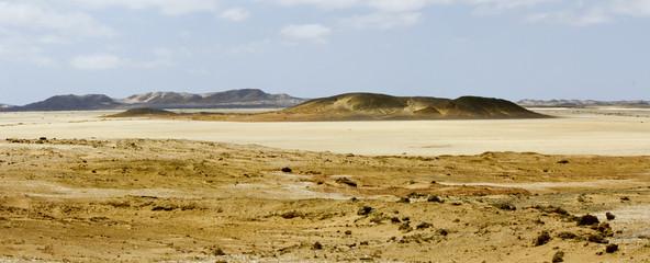 Namibia desert, Africa - panoramic view