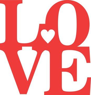 lovely day love heart