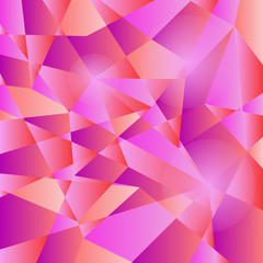 Vector illustration Geometric pattern, triangles background Eps1